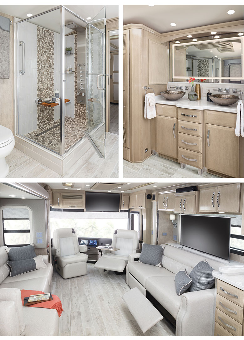 Newmar King Aire Luxury Motor Coach Interior