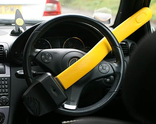 Stoplock Professional Steering Wheel Lock